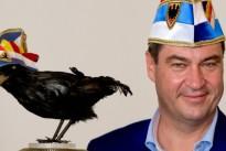 """Markus Söder erhält Orden """"Wider den tierischen Ernst"""" 2015"""