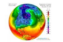 Monstersturm heizt dem Nordpol ein