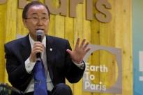 UN-Chef Ban Ki-moon zum Pariser Abkommen des Klimagipfels