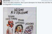 """""""Charlie Hebdo""""-Zeichnung über Erdbeben empört Italien"""