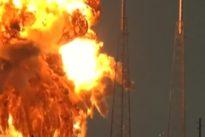 Falcon-9-Rakete von SpaceX explodiert bei Testlauf