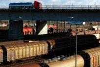 Laute Güterbahn trifft smarten Lastwagen