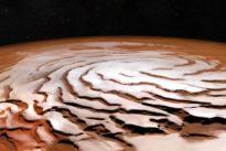 Bilder vom Mars zeigen eisige Spirale