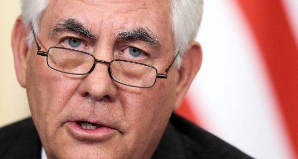 Amerikas Außenminister nennt Russland ein Hindernis