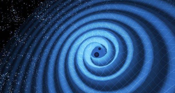 Zwei Schwergewichte lassen die Raumzeit beben