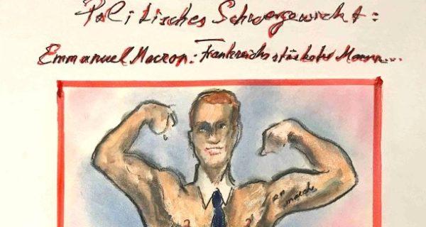 Karl Lagerfeld hofft auf einen starken Präsidenten