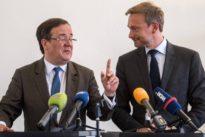 Schwarz-gelber Koalitionsvertrag steht