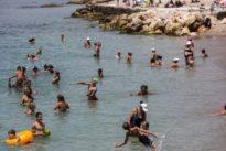 Temperaturen in Griechenland normalisieren sich