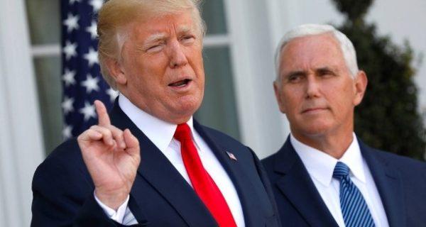 Pence sagt das, was Trump nicht sagt