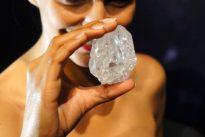 1109 Karat schwer: Riesendiamant für fast 50 Millionen Euro verkauft