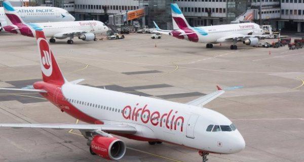 Insolvente Fluglinie: 1400 Air-Berlin-Beschäftigten droht Kündigung