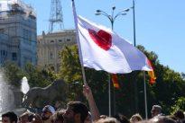 Spanien in der Krise: Patrioten auf Madrids Straßen