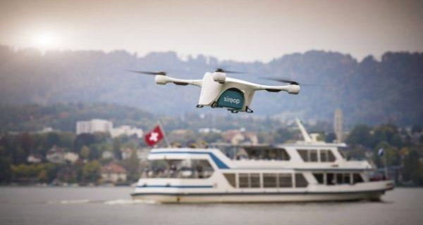 Lieferdienst: Rendezvous mit einer Drohne