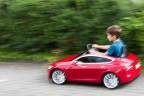 Elektroauto für Kinder: Der Tesla für den kleinen Mann