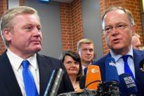 Große Koalition: Regierung in Niedersachsen steht