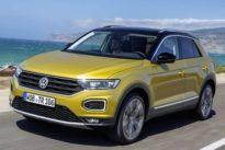 Probefahrt SUV VW T-Roc: Das Feld von hinten aufrollen