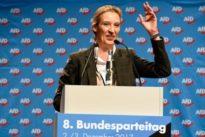 AfD-Parteitag in Hannover: Gespalten und noch ein bisschen weiter rechts