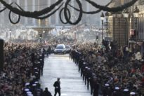 Trauerzug für Johnny Hallyday: Frankreich nimmt Abschied von seinem Elvis