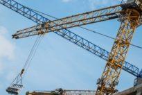 Protestaktion in Düsseldorf: Ausländische Bauarbeiter besetzen stundenlang Baukran