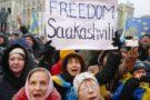 Machtkampf in Kiew: Tausende Anhänger fordern Freilassung Saakaschwilis