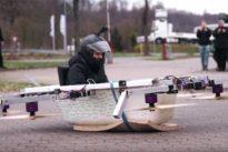 Ausflug in bemannter Drohne: Mit der fliegenden Badewanne zum Bäcker