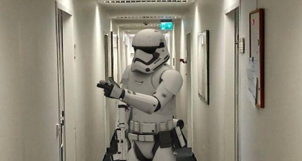 AR-Sticker auf Android: Und plötzlich steht ein Stormtrooper im Büro