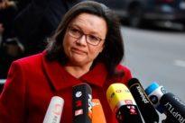"""SPD-Ärger über Sondierung: Nahles: Union muss """"Jamaika-Modus"""" einstellen!"""
