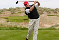 Schottland: Protest gegen neuen Trump-Golfplatz