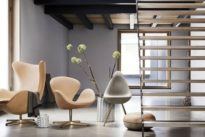Dänischer Designer: Ein Hauch von Gold für Arne Jacobsen