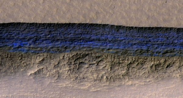 Hoffnung für Marsbewohner?: Roter Planet mit blauen Eisgletschern