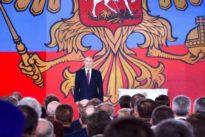 Putins Rede an die Nation: Wahlkampf als Waffenschau