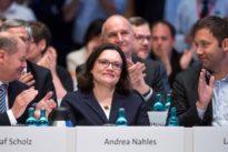 Neue Vorsitzende der SPD: Andrea Nahles mit 66,35 Prozent gewählt