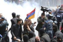 Proteste in Armenien: Polizei löst Demonstration gegen Regierung auf