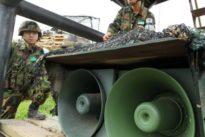 Riesige Lautsprecher: Südkorea stoppt Propaganda an der Grenze
