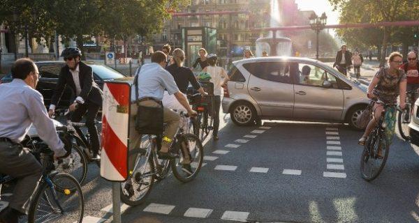 Als Radfahrer unterwegs: Die Angst fährt mit