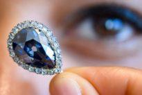 """""""Blue Farnese"""": Historischer Diamant für mehr als fünf Millionen Euro versteigert"""
