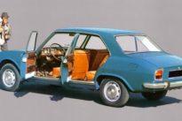Peugeot 504: Augen wie die Loren