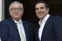 """Treffen mit Tsipras: Juncker: Griechenland wird bald ein """"normales"""" Euroland sein"""