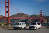 VW-Bus: California in Kalifornien