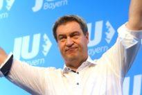 Auftritt in Friedberg: Söder will im Landtagswahlkampf Stärke Bayerns betonen