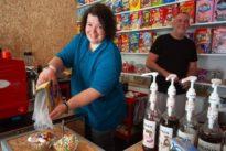 Cornflakes-Café: Knallig bunt und zuckersüß