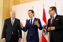 Treffen in Wien: Seehofer und Kurz wollen Mittelmeer-Route schließen