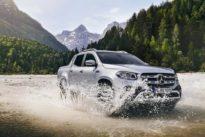 Pick-up mit Doppelkabine: Mercedes liefert einen Bullen