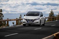 Nissan Leaf Tekna: Läuft nicht lang, steht aber lang