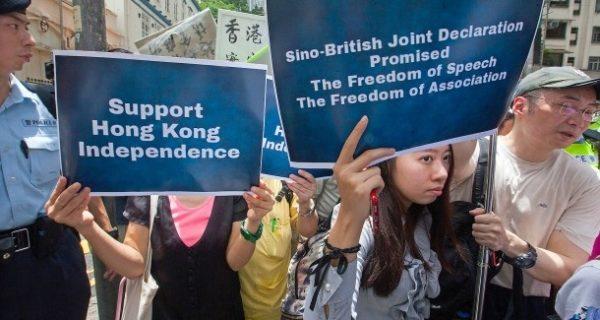 Sonderverwaltungszone Hongkong: Chinas Regierung verbietet Unabhängigkeitspartei