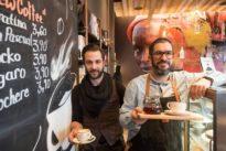Lokaltermin: Filterkaffee und Hummus