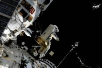 Für Tierbeobachtung : Antenne erfolgreich an ISS montiert