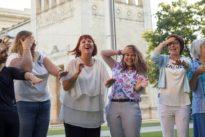 Lachen gegen Stress: Bitte recht freundlich