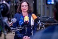 Sozialdemokraten: Nahles widerspricht Darstellungen Seehofers