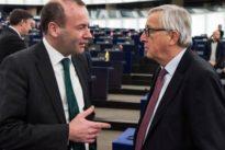 Nachfolger für Juncker? : Vize-CSU-Chef Weber will bei Europawahl antreten
